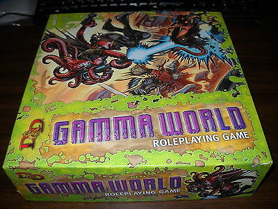 D&D 4.0: Gamma World Core boxed set: Complete