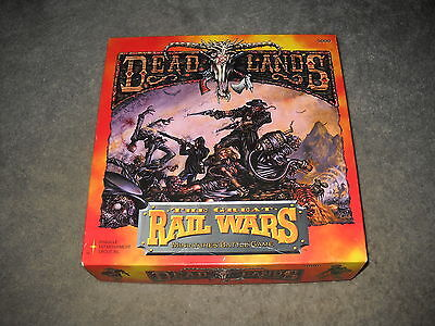 Deadlands: 5000: The Great Rail Wars boxed set plus 30 additional miniatures