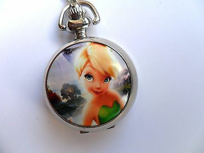 Lovely Tinkerbell  Necklace Watch