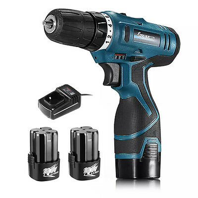16.8V Cordless Drill Rechargeable Li-Battery Electric Screwdriver Power Tools