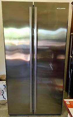 Westinghouse 610 Litre Stainless Steel Side by Side Refrigerator