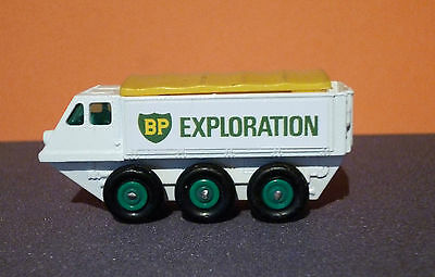 Matchbox Lesney Stickers 'BP EXPLORATION' for 61b Alvis Stalwart