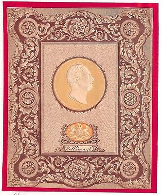 AP1839.7 GB TREASURY COMPETITION Whiting King William IV Embossed Cameo/Essay