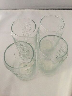 Coca-Cola Glass Vintage-Style Retro Coke Can Tumblers, 12 Ounce, Pack of 4
