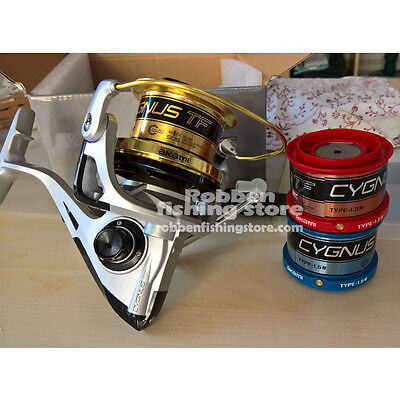 MULINELLO AKAMI CYGNUS TF SURFCASTING FRIZIONE CARBONIO fishing reel ww ship