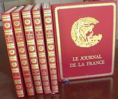 Livres de collection, Le Journal de la France Tomes 1 à 6