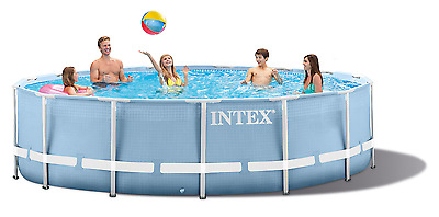 Intex Frame Pool Set Prism Rondo ø 366 x 76 cm 28712GN