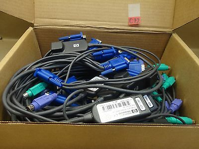Lot Of 20 Hp 520-290-005 Kvm Ps/2 Interface Cable C72