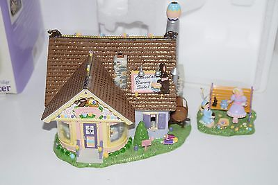"""Department 56 Easter Snow Village """"CHOCOLATE BUNNY FACTORY"""" #55355"""