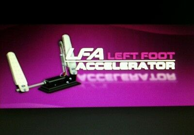 Left Foot accerator pedal & free steering assist your best driving aide choice