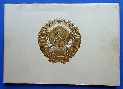 USSR Russian COATS of ARMS and FLAGS of USSR and Soviet Union Republics, 1959