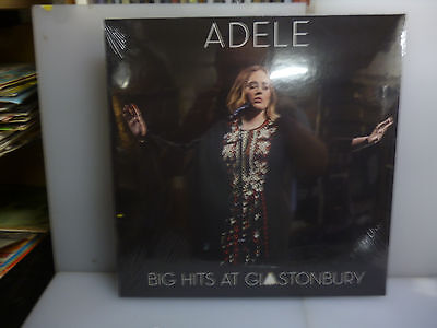 Adele-Big Hits At Glastonbury. Pilton, Uk 2016.-Vinyl Lp-New. Sealed.