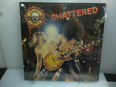 Guns N' Roses-Shattered. Use Your Illusion Outtakes.-White Vinyl Lp-New.sealed