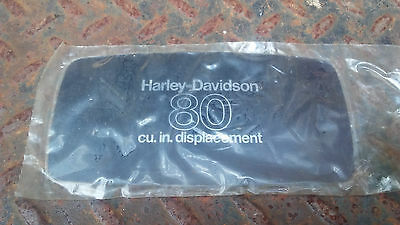 NOS Harley-Davidson 80 cubic inches Air Cleaner Cover trim 29272-78 Shovelhead