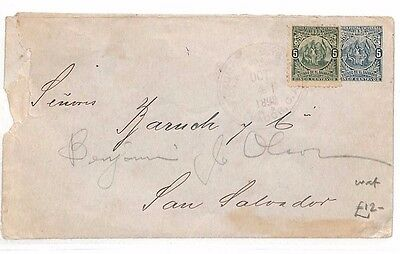 BH289 1898 EL SALVADOR San Salvador Local Cover