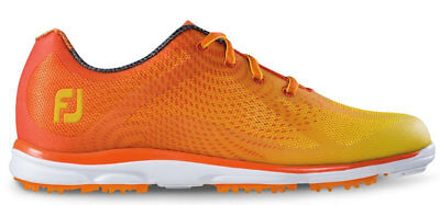 FootJoy emPOWER Women's Golf Shoes 98005 Orange/Yellow Ladies New - Choose Size!