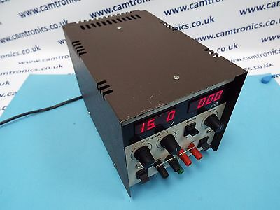Thurlby Bench Power Supply 15V 4A