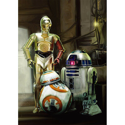 C3PO R2D2 BB8 Diamond Mosaic painting Kit 30x40cm like cross stitch