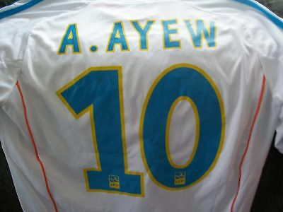 maillot de l'OM flocage A. AYEW foot collector !! vintage soccer