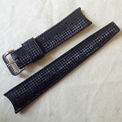 Original Tropic Strap 19mm Curved Ends 1960's/70's NOS Watch Band / Uhrenarmband