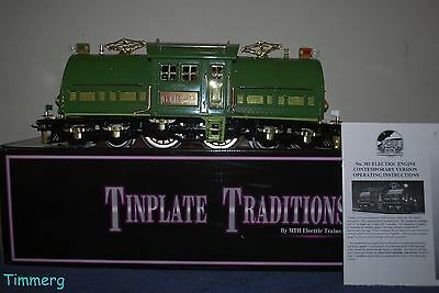 MTH Tinplate Traditions 10-1077-1 #381E Standard Gauge Electric Locomotive **