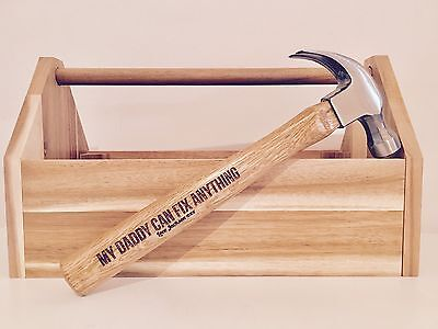 Personalised Hammer Dad Gift Birthday Grandad Father's Day Tools Engraved 16oz