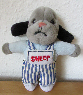 Fab Rare Little *sweep* Plush Soft Toy Finger Puppet - Sooty And Sweep