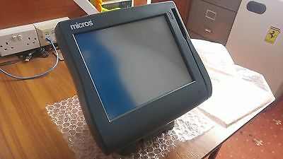 ePOS Micros Workstation 4 Till Unit with Table Stand (USED-WORKING) 400614-001
