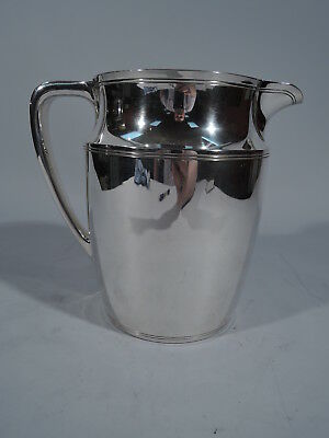 Tiffany Water Pitcher - 20211 - Art Deco Modern - American Sterling Silver
