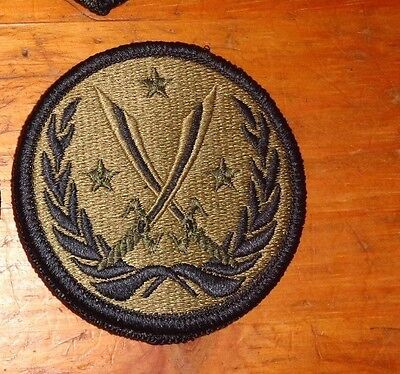Army Patch, #new# Jtf Inherent Resolve,anti-Isis,multi-Cam,scorpion, W/velcr