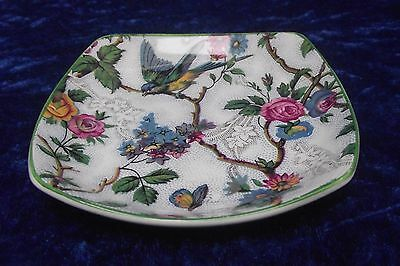 Midwinter Stylecraft, Fashion Shape, Lorna Doone 'Bird Chintz'  Pin/Trinket Dish