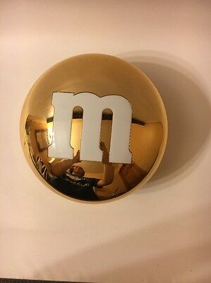 Gold M&M Container Tiffany Collectible