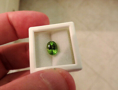 1.80ct Green San Carlos Gila Co. Arizona Peridot. Cut by me:) NICE SPECIMEN