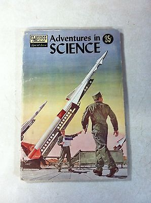 Classics Illustrated Special #138A Adventures In Science, 1957, 1St Edition