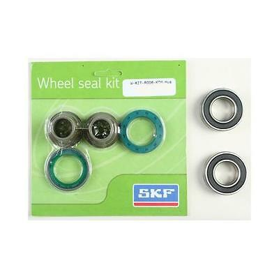 SKF Rear Wheel Seal Bearing Kit for KTM 00-15 EXC XCW XCFW WSB-KIT-R006-KTM-HUS