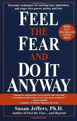 Feel the Fear and Do it Anyway, Jeffers, Susan J. Paperback Book The Cheap Fast