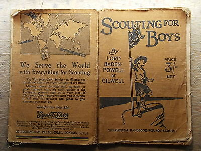 Scouting for Boys by Lord Baden-Powell 1940 nineteenth edition (M)