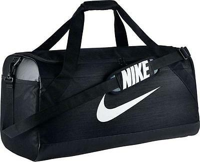 22a10efb9659 Like us on Facebook · Nike Brasilia Small Duffel Bag Sports Gym Soccer  Football Black BA5335-010
