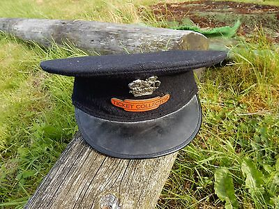 20Th C Railway Cap   Just In   See Images   Well Used Good State Railway British