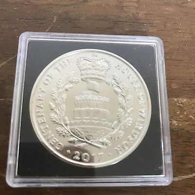 Royal Mint 2017 House of Windsor BUNC £5 Coin In A Capsule