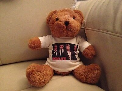 WESTLIFE T SHIRT FOR A TEDDY BEAR OR DOLL dolls' clothes