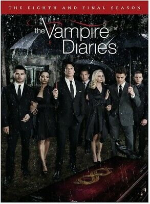 Vampire Diaries: The Complete Eight & Final Season - 3 DISC SET (2017, DVD NEW)