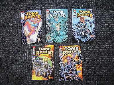 Tomb Raider lot - 1999 - #1 and up - NM