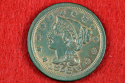 Estate  Find 1853 - Liberty Head Large Cent!!!! #G7493