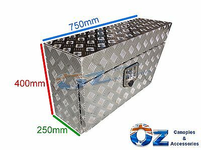 Aluminium Tool Box Right RHS Under Tray Ute Truck Trailer Caravan Storage