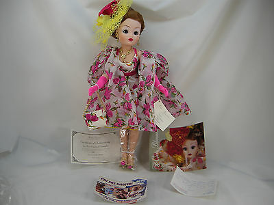 Tea Rose Cocktail Cissy Doll Set From 1997 Displayed  Madame Alexander No Box