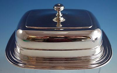 Christofle Silverplate Butter Dome with Glass Insert (#1534)