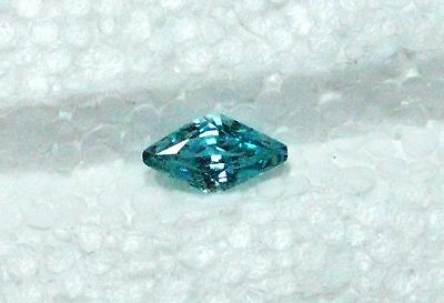 3.25 Carats Eye Clean Natural Cambodian Blue Zircon Kite
