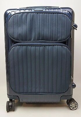 "Rimowa Salsa 22"" Inch Deluxe Cabin Hybrid Multiwheel Carry-On Yachting Blue"