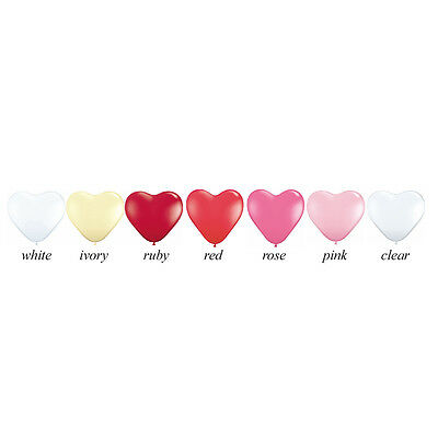 "Giant Heart Balloon - 36"" Latex Helium Heart Balloon - Pick Your Colour"